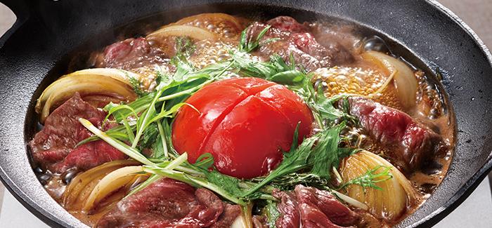 すき焼き トマト