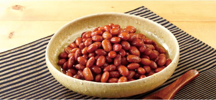 豆 の 甘煮 金 時