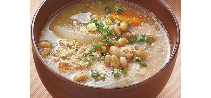 味噌汁 納豆