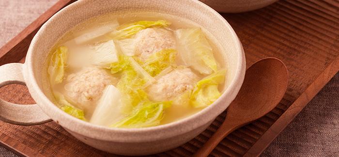 レシピ 鶏 団子 スープ